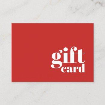 Elegant Gift Certificates Business Cards Business Cards 100