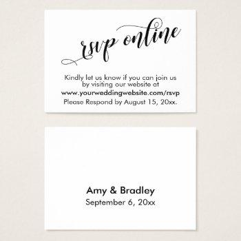 rsvp online card - Intoanysearch