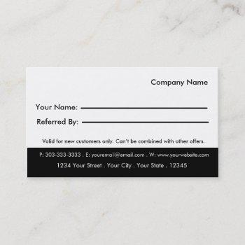 Yoga Class Punch Business Cards Business Cards 100