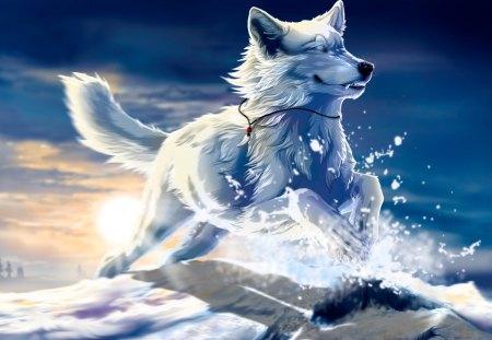 Ice Wolf 3d Wallpaper Download Ice Wolf Wallpapers Www Pixshark Com Images Galleries