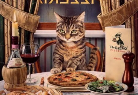 Pizza Wallpaper Cute I Love Pizza Cats Amp Animals Background Wallpapers On