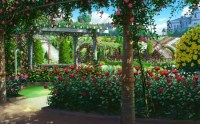 Rose Garden - Other & Anime Background Wallpapers on ...