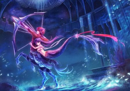 Sweet Girl Boy Love Wallpaper Centaur ♡ Mermaid Other Amp Anime Background Wallpapers On