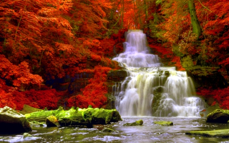 Fresh New Fall Hd Wallpapers Autumn Forest Waterfalls Waterfalls Amp Nature Background