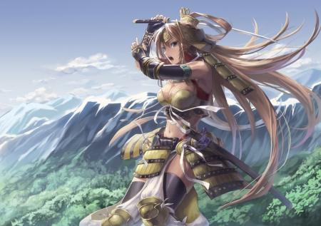 Ninja Girl Wallpapers Hd Samurai Girl Other Amp Anime Background Wallpapers On
