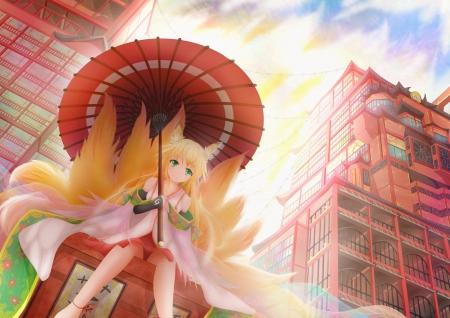 Sweet Girl Wallpapers Com Kitsune Other Amp Anime Background Wallpapers On Desktop