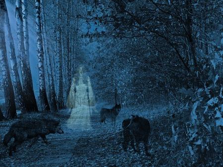 Desktop Nexus 3d Wallpapers Forest Spirit Fantasy Amp Abstract Background Wallpapers