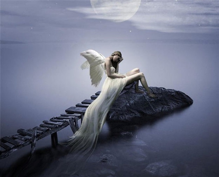 Sad Boy And Girl Love Wallpaper Hd Dreamer Angel 3d And Cg Amp Abstract Background Wallpapers