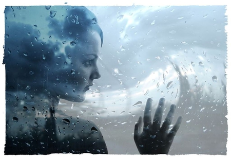 Sweet Girl Boy Love Wallpaper Rain And My Thoughts 3d And Cg Amp Abstract Background