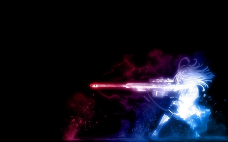 Awesome Wallpapers Girl Sniper Unmatchable Firepower Other Amp Anime Background