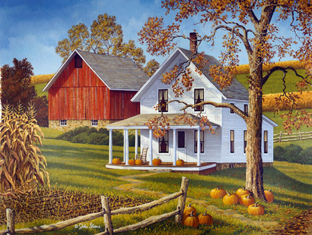 Fresh New Fall Hd Wallpapers John Sloane Down The Lane Other Amp Nature Background