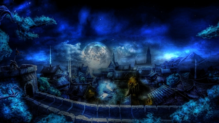 Mystical Creatures In The Fall Wallpaper Fantasy World Other Amp Video Games Background Wallpapers