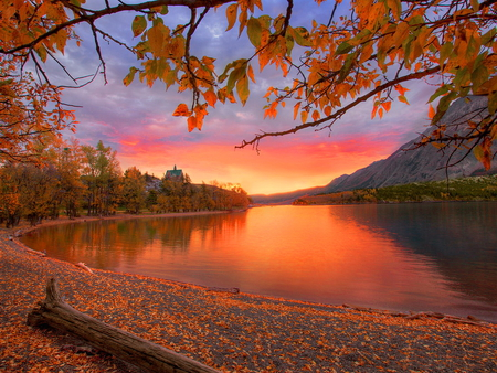 Fall Colors Desktop Wallpaper Autumn Red Rivers Amp Nature Background Wallpapers On