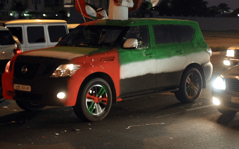 Car Decoration For Uae National Day Uae National Day: Dress Up Your Car To Win Dh100k