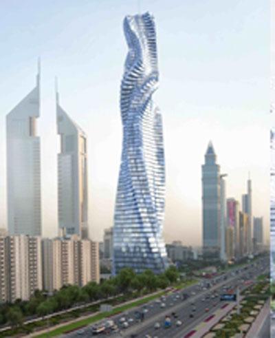 Rotating tower in Dubai: Dh2bn - Emirates 24|7