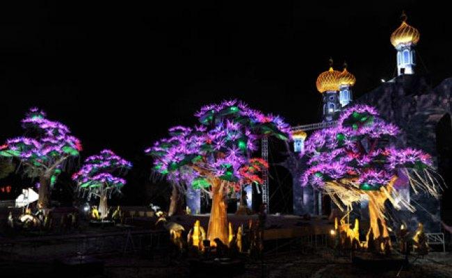 Dubai Gets World S Largest Dh30m Glow In The Dark Garden Emirates24 7