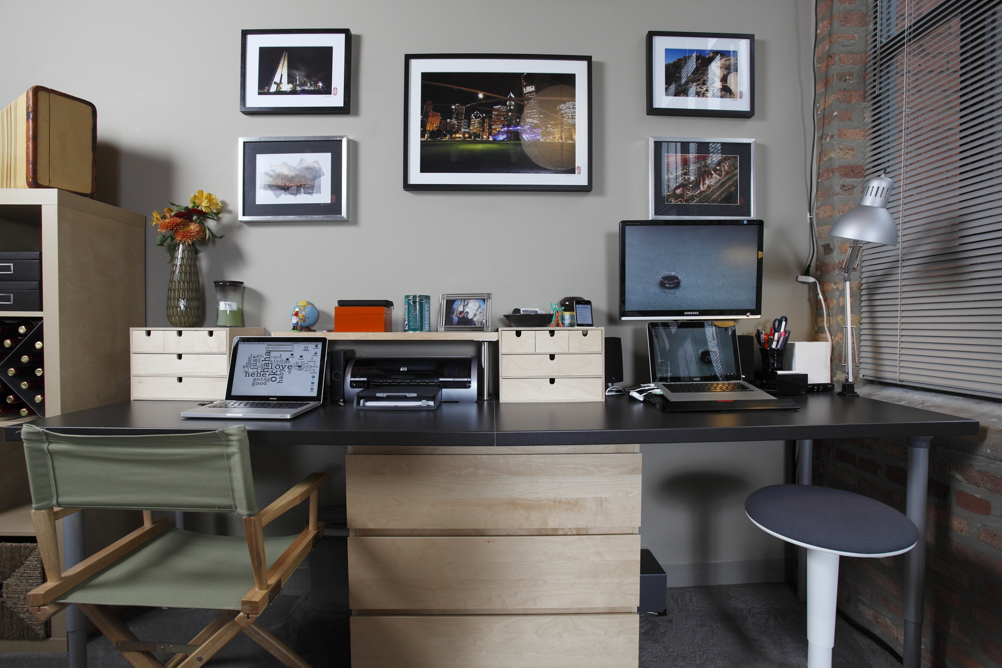 Home Office Decoration Reworking The Home Office With A Dash Of Ikea Lifehacker