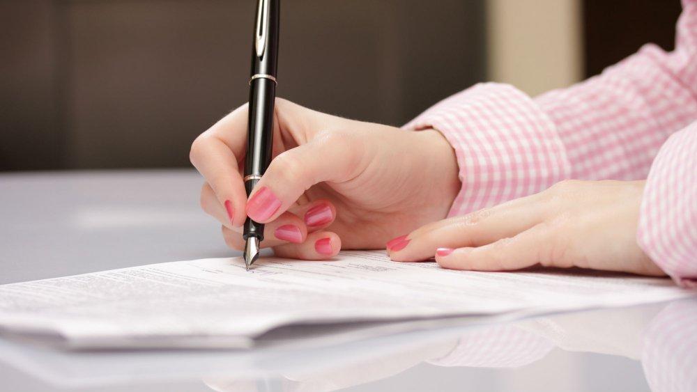 modele pour ecrire une lettre