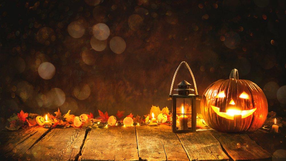 Fall Pumpkin Background Wallpaper Halloween F 234 Tons Halloween Magicmaman Com