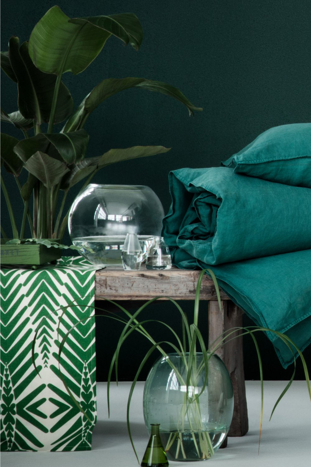 Mur Vegetal En Palette Interieur H&m Home : Un Style Urban Jungle Pour Le Printemps - Marie