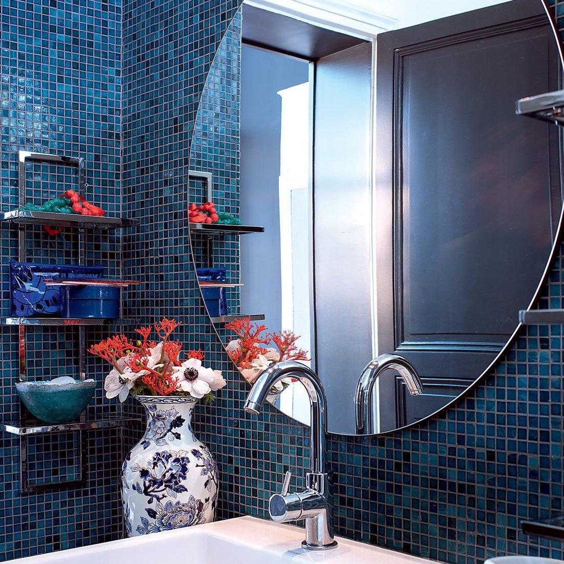 Mosaique Salle De Bain Bleu