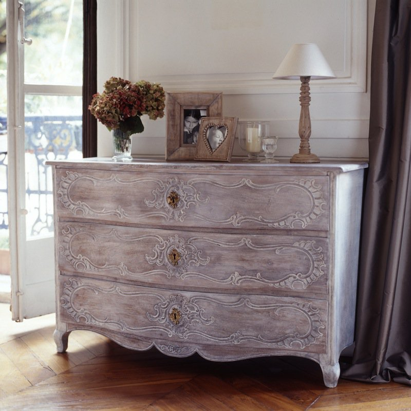 Nettoyer Bois Rénover Une Commode Louis Xv - Marie Claire