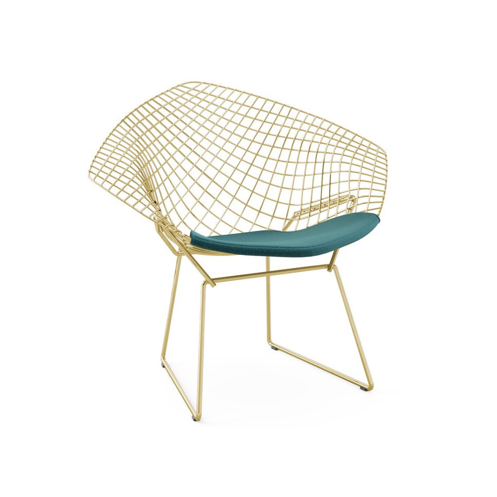 Chaise Bertoia Occasion Diamond Chair Marie Claire