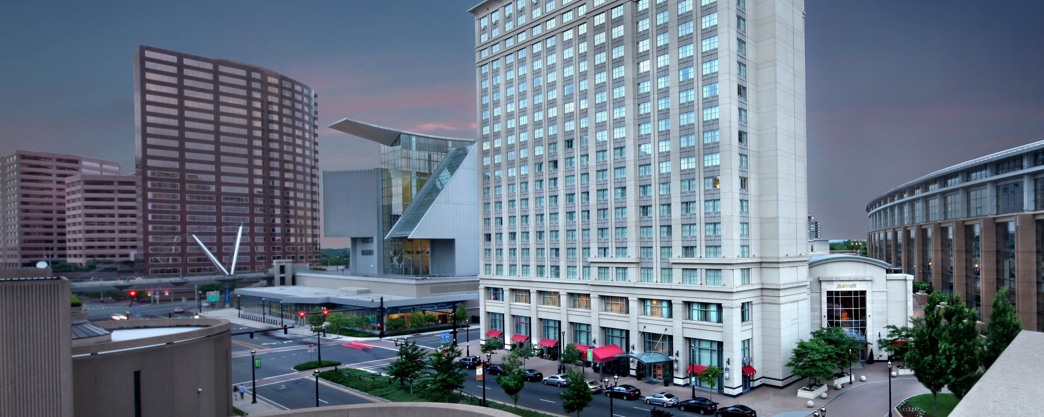 Ct Hotel Downtown Hartford Hotels | Hartford Marriott Downtown