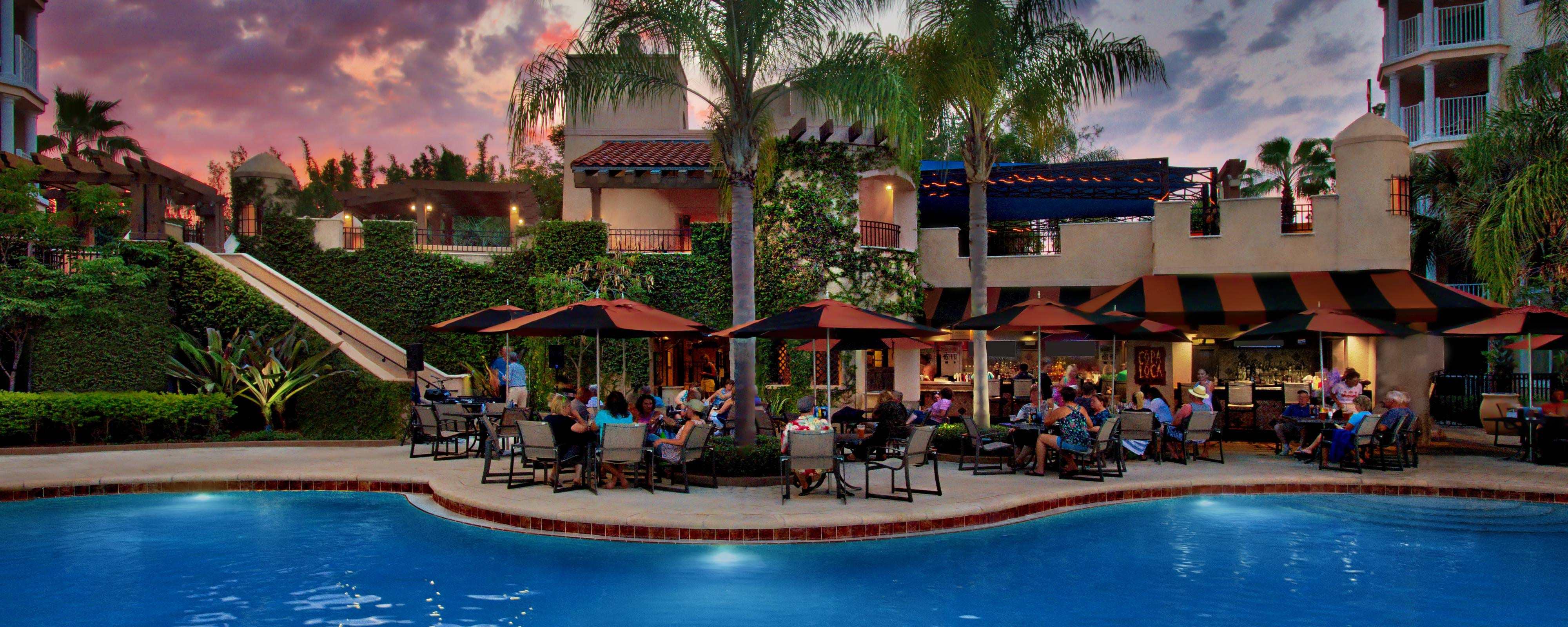 Pizza Cucina Marriott Grande Vista Menu Outdoor Restaurants Orlando Casual Dining Marriott S Grande Vista