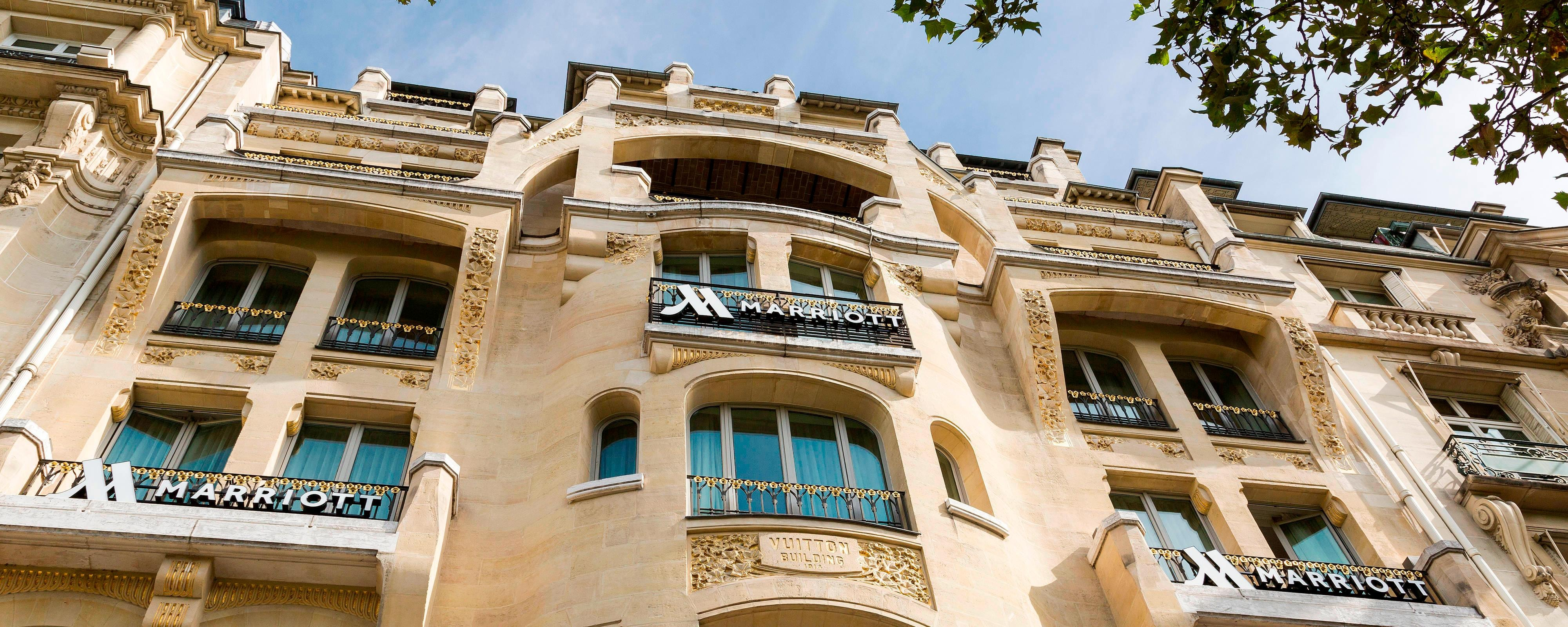 Location Parking Paris 16 Hotel In Paris France Paris Marriott Champs Elysees Hotel