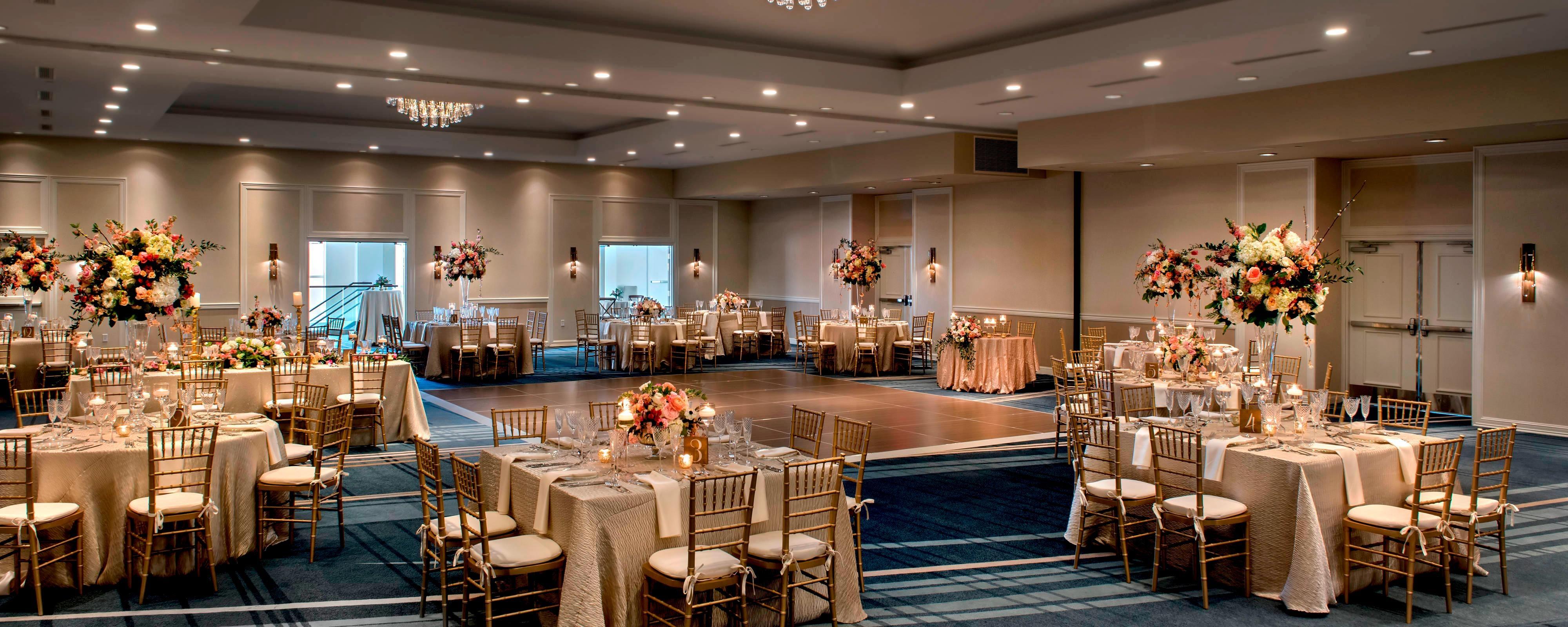 Wedding Reception Venues Newport RI | Newport Marriott