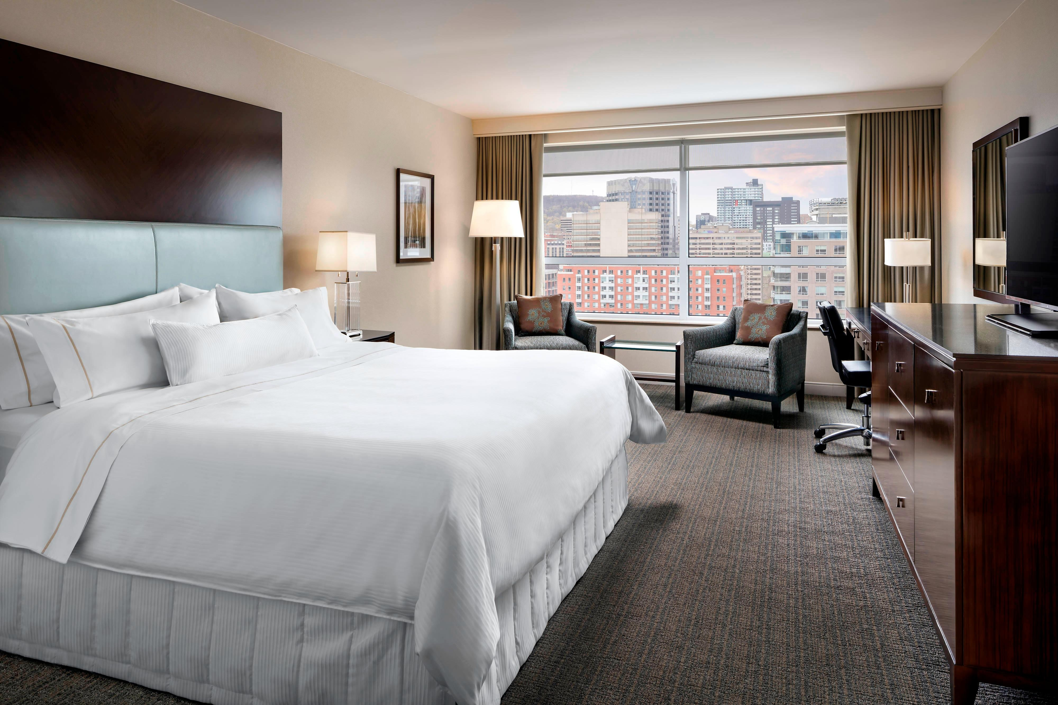 Chambre Best But Montreal Hotel Le Westin Montreal