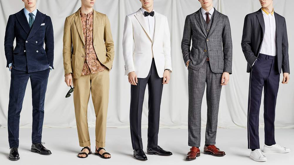Five Mens Wedding Outfits For Spring 2018 Dress Code