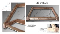 Diy Tire Rack Build - Diy (Do It Your Self)