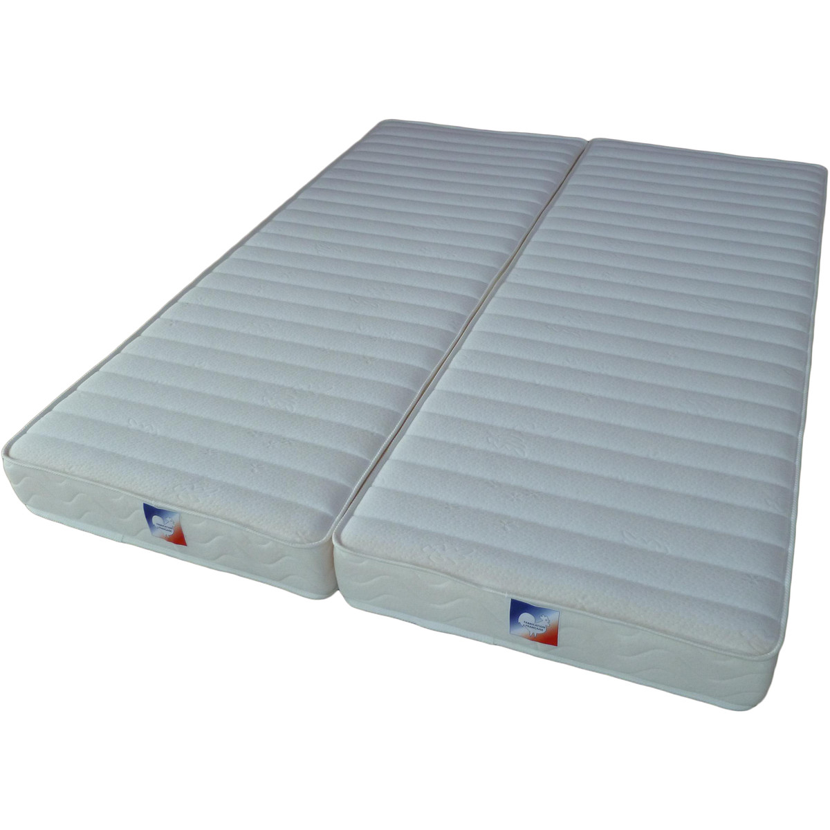 Sommier 2 Places Pliable Matelas En Latex Topiwall