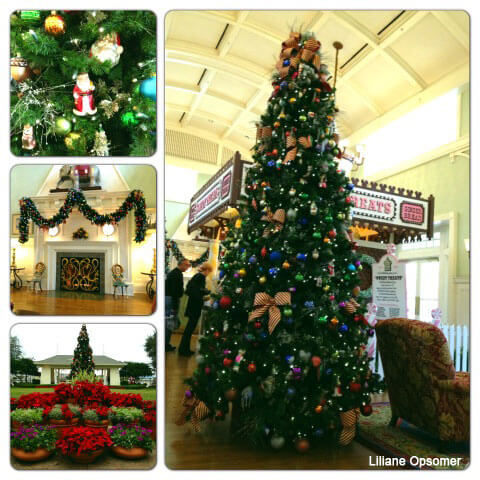A Tour of the Disney World Resort Decorations on Christmas Eve - disney christmas decorations