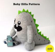 Baby Zilla Pattern