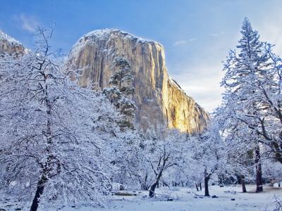 Yosemite Falls Wallpaper 28 Marvelous Snow Pictures