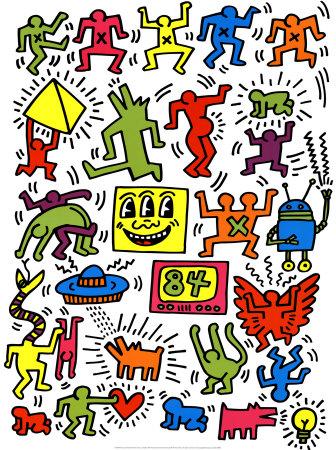 Keith Haring Iphone Wallpaper Google ฉลองครบรอบ 54 ปี คีธ แฮริ่ง