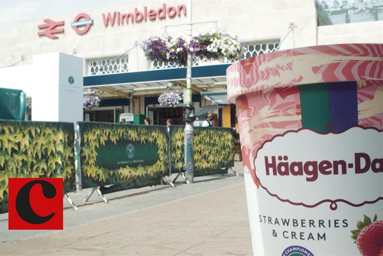Watch How Haagen Dazs Served Its Return To Wimbledon