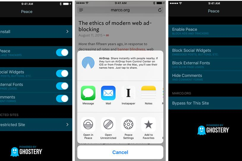 App store\u0027s number one mobile ad blocker removed by founder after