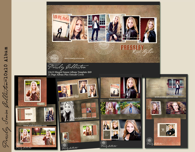 free template Cache Vie Photography