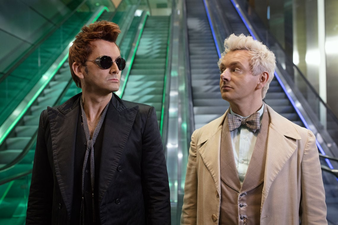 Alle Serien Online Amazon Serie Good Omens Christen Starten Petition An Netflix