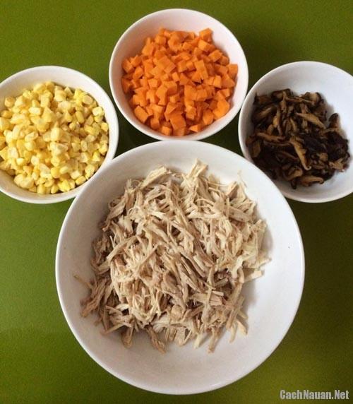 Cách nấu súp gà thơm ngon, bổ dưỡng