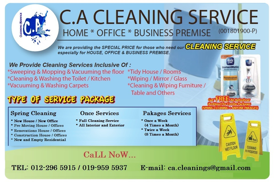 cacleaningservice \u2013 cleaning services, cleaner, house cleaning