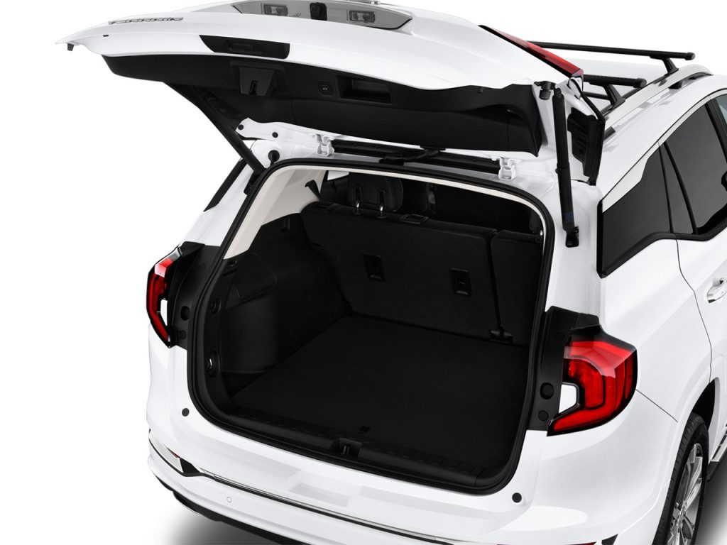 2018 Gmc Terrain Cargo Space Trunk Storage Room Latest