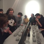 Cupping of #thirdwavewichteln coffees sent to Hamburg from all around the world.