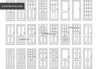 """Door Cad & Largue Doors Cad Blocks""""""""sc"""":1""""st"""":""""Cad-Blocks.net"""