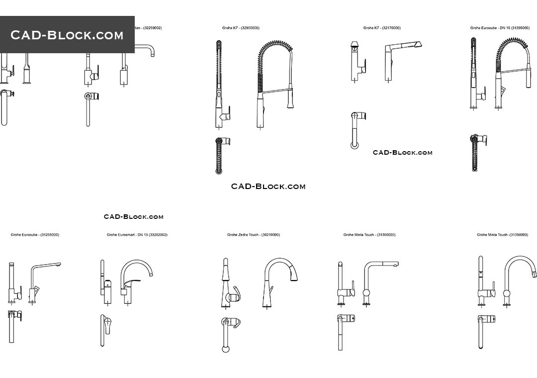 Ikea Küche Dwg Kitchen Faucets Cad Blocks Download Free
