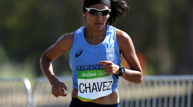 "Viviana Chavéz: ""solo me concentré en llegar"""